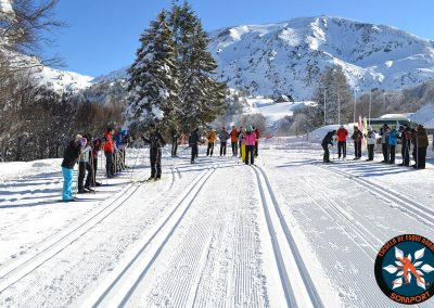 Clases particulares de esquí de fondo: clásico y patinador con la Escuela de Esquí Nórdico Somport