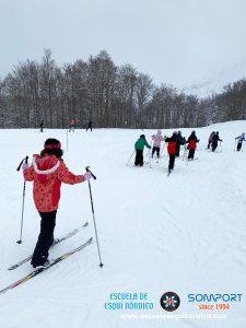 Comenzamos la temporada de esquí nórdico en Somport