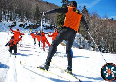 Especial colegios y grupos: un día en la nieve Aprendizaje del esquí nórdico, juegos en la nieve y conocimiento del entono en una jornada lúdica y educativa en plena naturaleza.