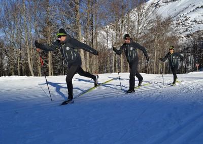 La Escuela Esquí Nórdico Somport (EENS) es una empresa especializada en la enseñanza del Esquí de Fondo y otras disciplinas Nórdicas como el biathlón o las excursiones con raquetas de nieve.