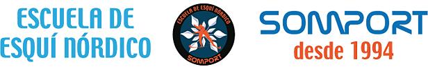 Escuela de esquí nórdico Somport cursos y clases: grupos, familias, particulares...